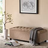 Madison Park FPF18-0142 Shandra Bench Storage Ottoman