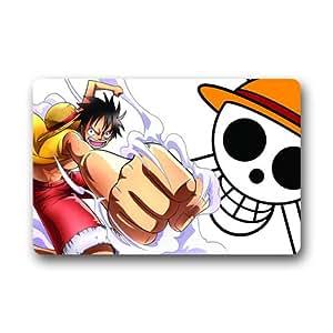 Cottage Decor Helper fashiom personalizada Cartoon One Piece Felpudo