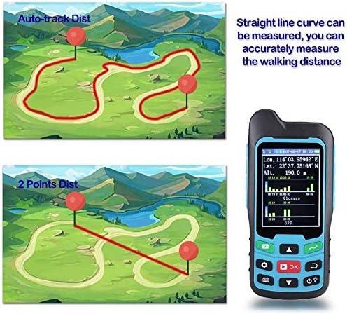 Handheld GPS GLONASS BEIDOU Length and Land Area Measure Calculation Meter,GPS Area Distance Measurement,Figure Track Multifunctional Measuring Instrument