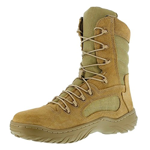 "Reebok Men's Fusion Max 8"" inch Tactical Desert Tan CM994 Military Tactical Work Boots American Made"