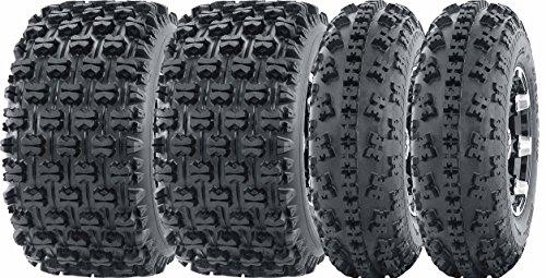 (Set of 4 Sport ATV Tires 23x7-10 23x7x10 Front & 22x11-10 22x11x10 Rear GNCC)