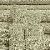 Baltic Linen Multi Count 100% Cotton Towels, 4 Bath