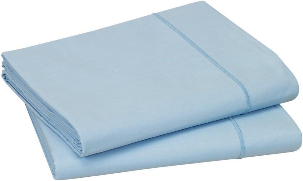 Blanc des Vosges - Sábana de algodón, algodón, Azul Celeste ...