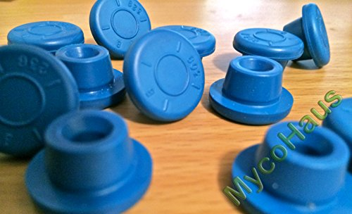48 blue rubber bottle stoppers, self hea - Injection Vial Shopping Results