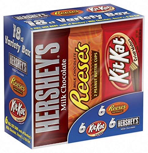 Hershey Candy Bar Assorted Variety Pack