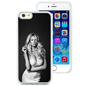 Unique Designed Cover Case For iPhone 6 4.7 Inch TPU With He Charlotte Mckinney Sexy Dark Smoke Girl (2) Phone Case