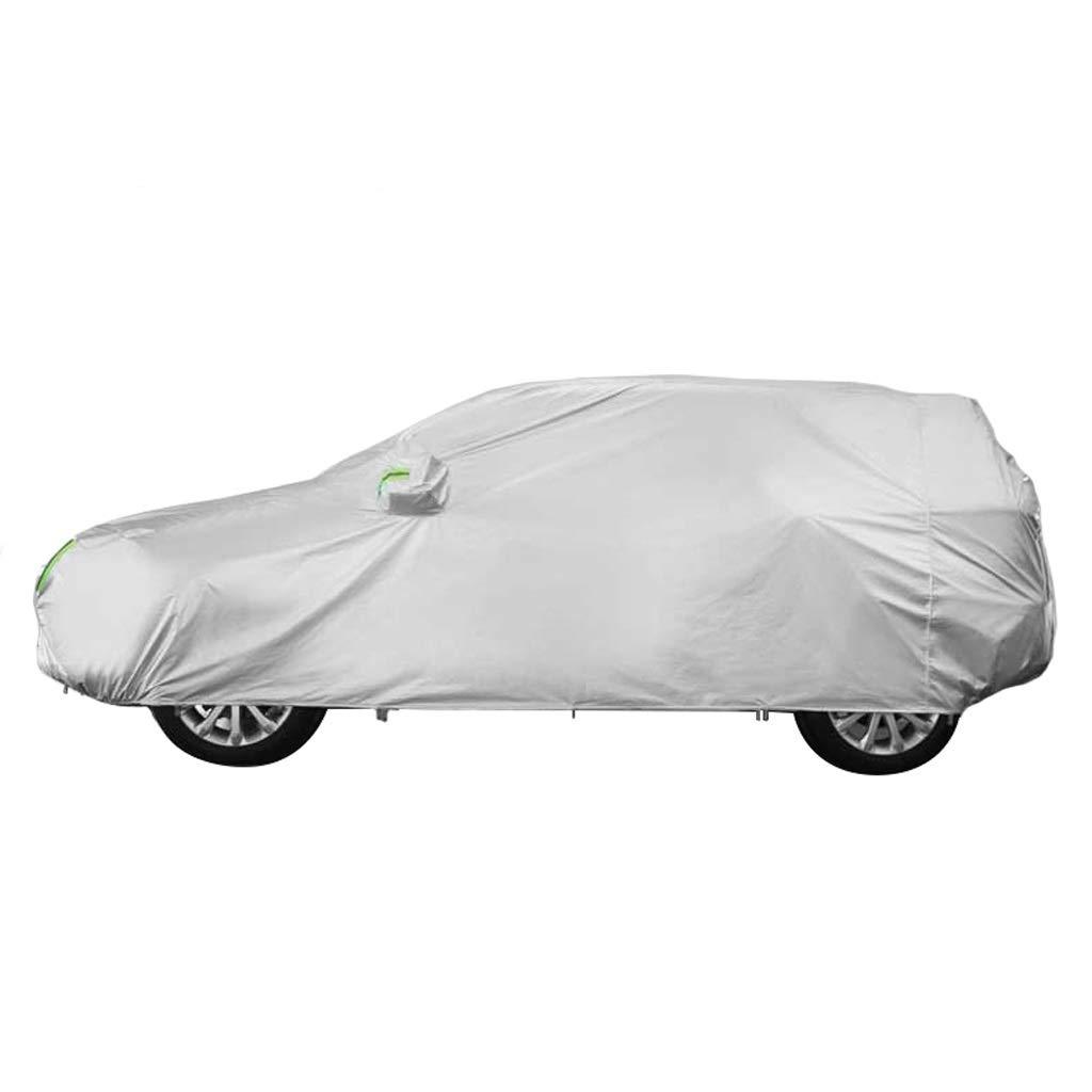 SXET-Cubierta de coche Compatible con Porsche Cayenne Cubierta para autom/óvil Cubierta contra el polvo para autom/óvil SUV Four Seasons General Protector solar resistente a los rasgu/ños Lluvia y nieve