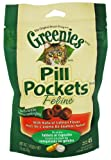 Greenies Pill Pockets for Cats, Salmon, 1.6 ounce by Greenies