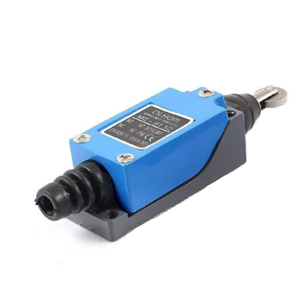 AC250V//5A DC115V//0.4A Parallel Roller Plunger NO NC DPST Limit Switch Auxcell Ltd