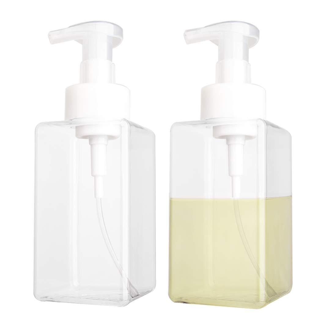 Flower Foam Bottle Refillable Hand Soap Dispenser Bathroom Pump Blister Bottle