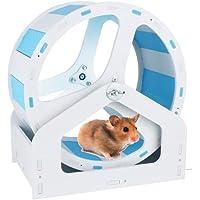 gutongyuan Silent Hamster Exercise Wheel, 8.2inch Hamster Exercise Ball with a Base, Running Wheel for Syrian Hamster…