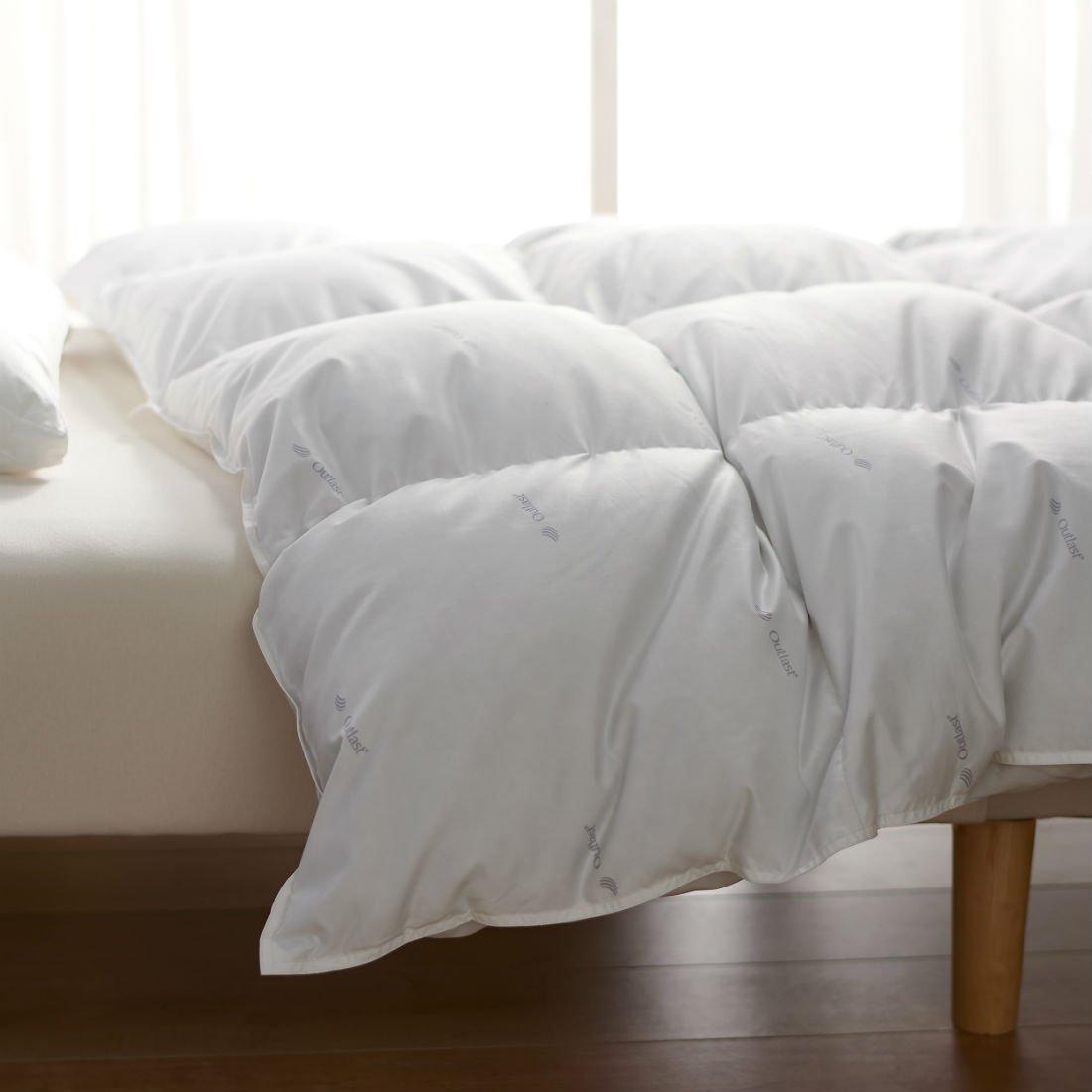 暮らしのデザインアウトラスト温度調節生地 羽毛布団肌掛け ダブル B071JBBH3H