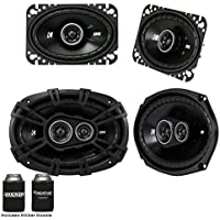 Kicker For Late 90s Early 2000s GM Coupes & Sedans. A pair of 43DSC4604 4x6 Speakers & a pair of 43DSC69304 6x9s