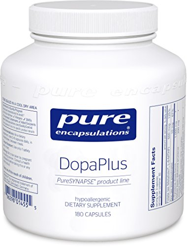 Pure Encapsulations - DopaPlus - Comprehensive Dopamine Support Supplement* - 180 Capsules