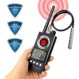 Anti-Spy Wireless RF Signal Detector [Latest Professional Version] Bug GPS Camera Signal Detector,Detection GPS Tracker Hidden Camera Eavesdropping Device Signal Detector