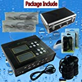 EHM Dual Ionic Foot Detox Spa Bath LCD Machine & Fir Belts 5 Modes Ion Cleanse