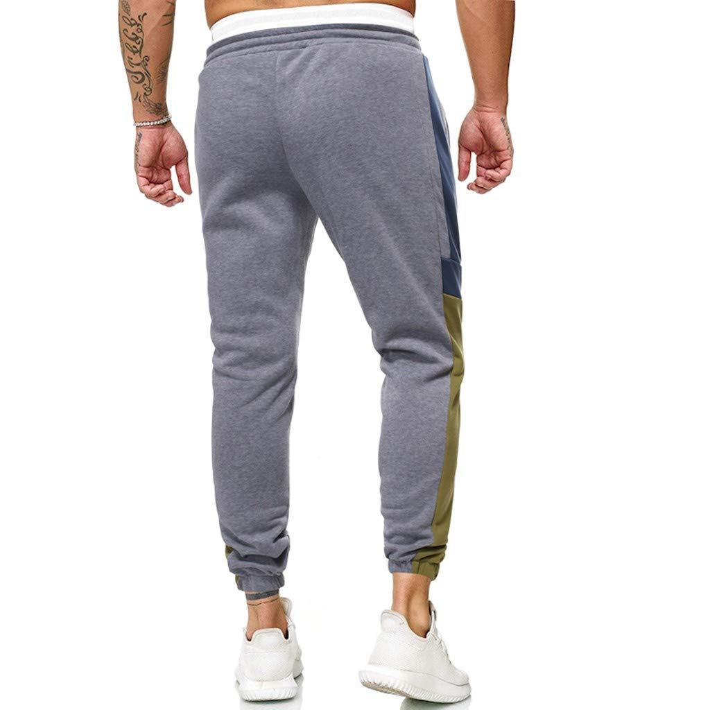 Men's Jogger Pant Jeans Combat Elasticated Waist Casual Trouser Outdoor Hiking Sweatpants M-3XL by VEZARON (Image #2)