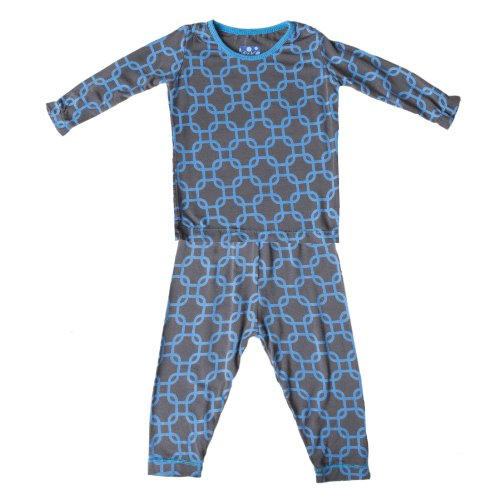 fc070365c KicKee Pants Long Sleeve Winter Pajama Set Toddler Boys, Stone River  Lattice, 4T - Buy Online in UAE. | Apparel Products in the UAE - See  Prices, ...