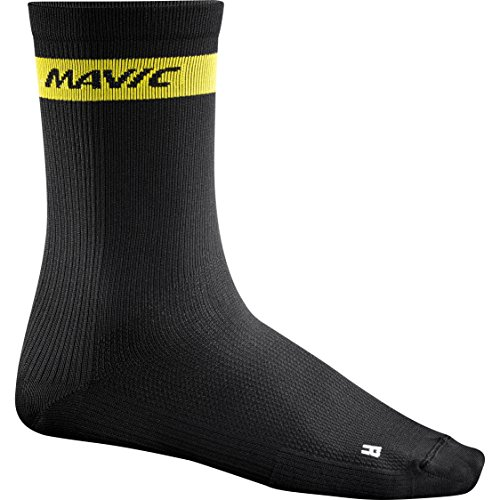 Mavic Cosmic High Socks Black, L - Men's (Black Socks Cosmic)