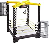 Mattel WWE Tough Talkers Championship Takedown Ring Playset