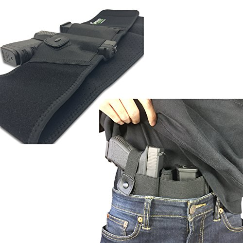 Belly-Band-Holster-For-Concealed-Carry-IWB-Holster-Waist-Band-Handgun-Carrying-System-Hand-Gun-Elastic-Holder-For-Pistols
