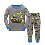 Dreamaxhp Excavator Little Boys' Pajama Sets