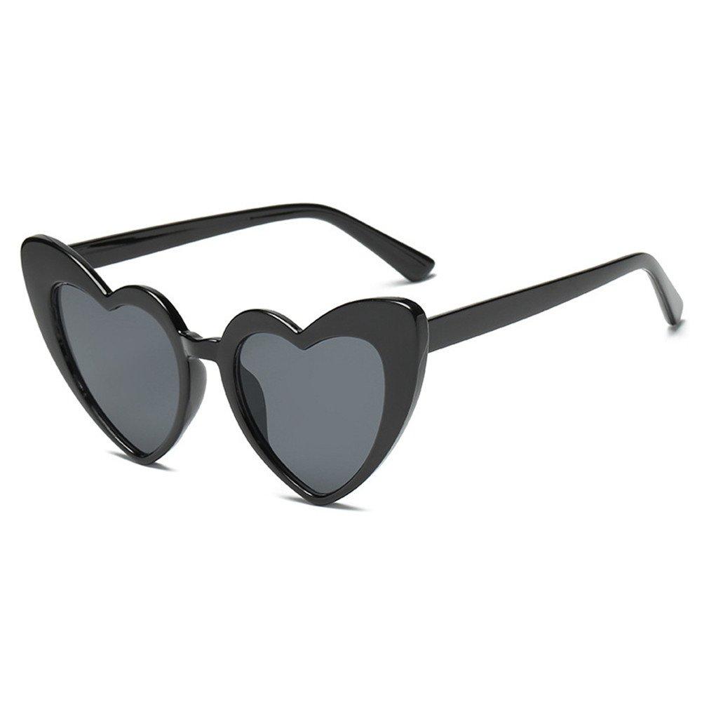 NIFG Gafas de sol graduadas Creative Fashion Love Sunglasses ...