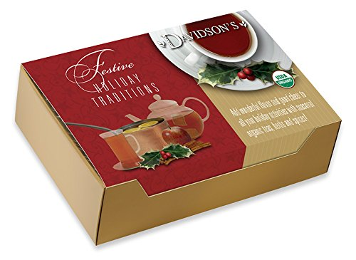 Davidson's Tea Single Serve Mulling Spice, 14-Ounce, 100 Bags per Case