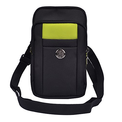 Padded Travel Ready Compact Green Camera Case for Canon PowerShot Cameras and More