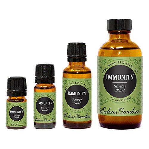 Immunity Synergy Blend Essential Oil - 100 ml by Edens Garden /(Frankincense, Tea Tree, Rosemary, Lemon, Eucalyptus /& Sweet Orange/)