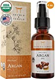 100% Pure USDA Certified ORGANIC Premium Moroccan Argan Oil 4oz. Orchid and Temple is MADE IN THE USA. Cold Pressed and Unrefined. For Nails, Hair, and Skin.