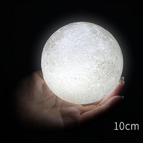 3d dbhawk USB LED Mágico luna luz nocturna luz de la luna lámpara ...