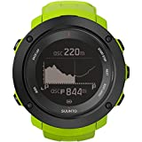 Suunto Men's 50mm Green Silicone Band Plastic Case Quartz Grey Dial Digital Watch SS021970000