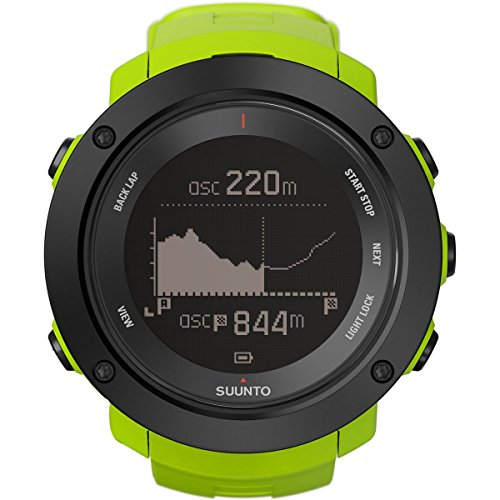 Suunto Ambit 3 Vertical HR Heart Rate Monitors Outdoor Sports Watches - Lime, One -