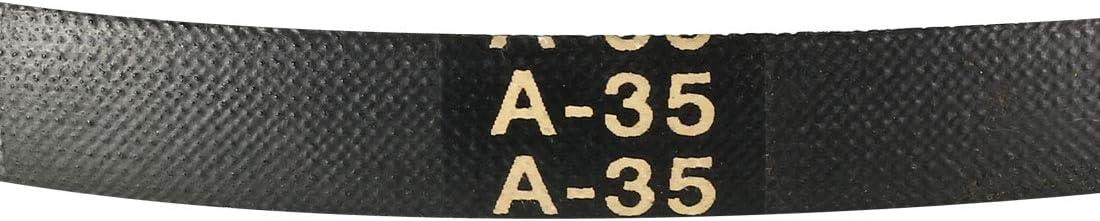 uxcell A-35 Drive V-Belt Girth 35-inch Industrial Power Rubber Transmission Belt