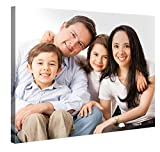 Custom Canvas Prints With Your Photos 40'x30' - Customize With Your Own Picture and/or Text - 0.75' Wooden Frame - Personalized Photo To Canvas Print Wall Art (Additional Sizes Available)