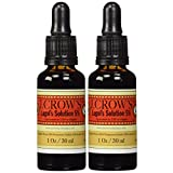 J.CROW'S Lugol's Iodine Solution 5% (1 oz.) Twin Pack (2 bottles)