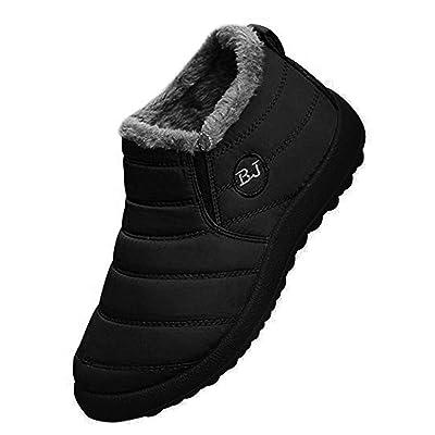 Orangetime Women's Winter Snow Ankle Boots-Comfort Warm Fur Lining Waterproof Outdoor Slip On Booties Sneakers | Snow Boots