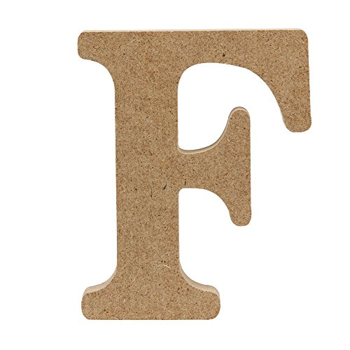 NNCTA Log Color Wooden Letter Ornaments (Art Near Me Sculptures)