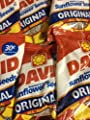 David SunFlower Seeds original 30 cents 36ct/.9-oz Bags by Unknown