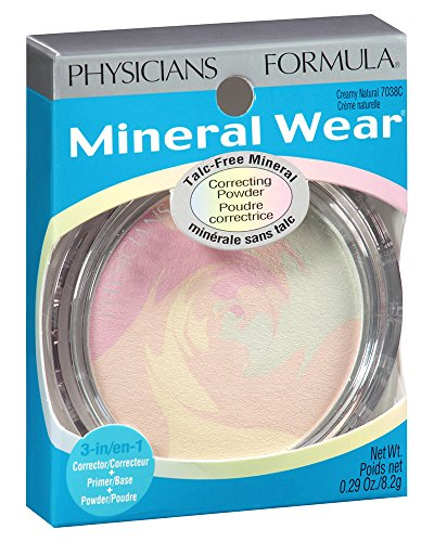 Physicians Formula Talc Free Mineral Wear Correcting Powder Creamy Natural