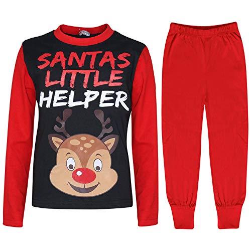 Ni 12 10 os Falthy Impreso Ya Chicas Red 6 Ni Ni A 13 de A2z 9 5 Rudolph 4 Edad 7 os Navidad 8 Pj's 11 os Pijamas os Angvqn1Y
