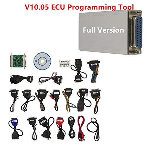 FidgetGear V10.05 Carprog Version complète avec 21 adaptateurs pour Voiture ECU Prog