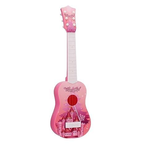 6 Juguetes Guitarra Infantil Niños Cuerdas Foxom NnX8k0OPw