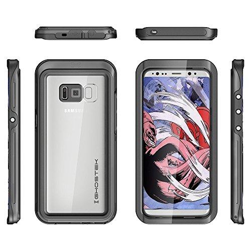 """Ghostek GHOCAS616 """"ATOMIC 3"""" Schutzhülle für Samsung Galaxy S8 Plus schwarz"""