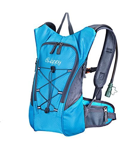 Hydration Pack with 2L Backpack hydration Bladder From HappySmile, Great Waterproof Cycling Hiking Climbing Hydration Backpack for Man Woman Kids