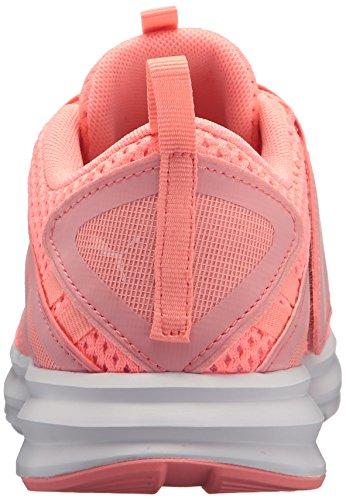 PUMA puma Fluo Enzo Strap White Soft Wn Women's Mesh Sneaker Peach ZrwZ7q