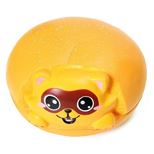 [Squishy Jumbo Raccoon Slow Rising Original Packaing Animal Collection Gift Decor Toy] (Homemade Penguin Costumes)