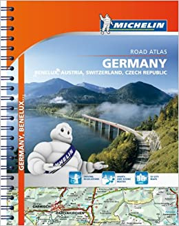 michelin germanyaustriabeneluxswitzerland atlas atlas michelin michelin 9782067192706 amazoncom books