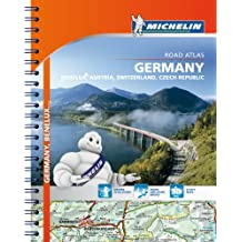 Michelin Germany - Benelux - Austria - Switzerland - Czech Republic Road Atlas